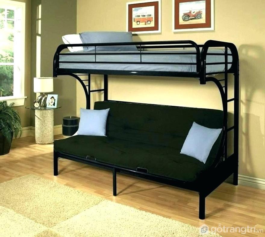 Giường tầng sắt ghế sofa - Ảnh: Internet