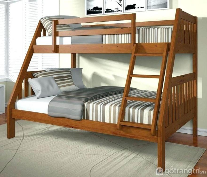 Giường tầng gỗ - Ảnh: Internet