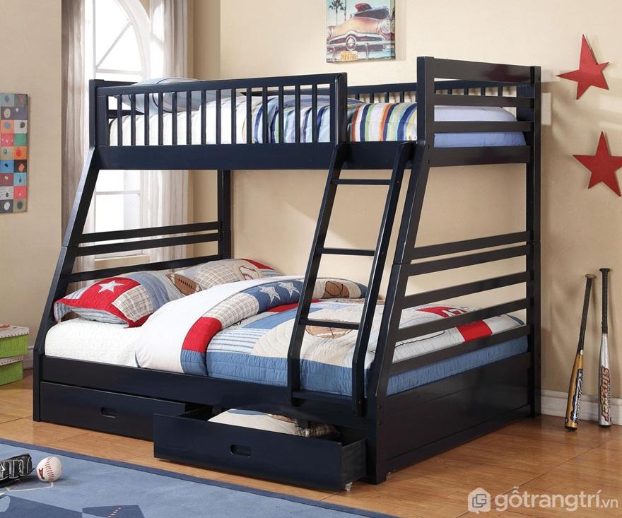 Giường tầng cho người lớn sinh đôi - Ảnh: Internet