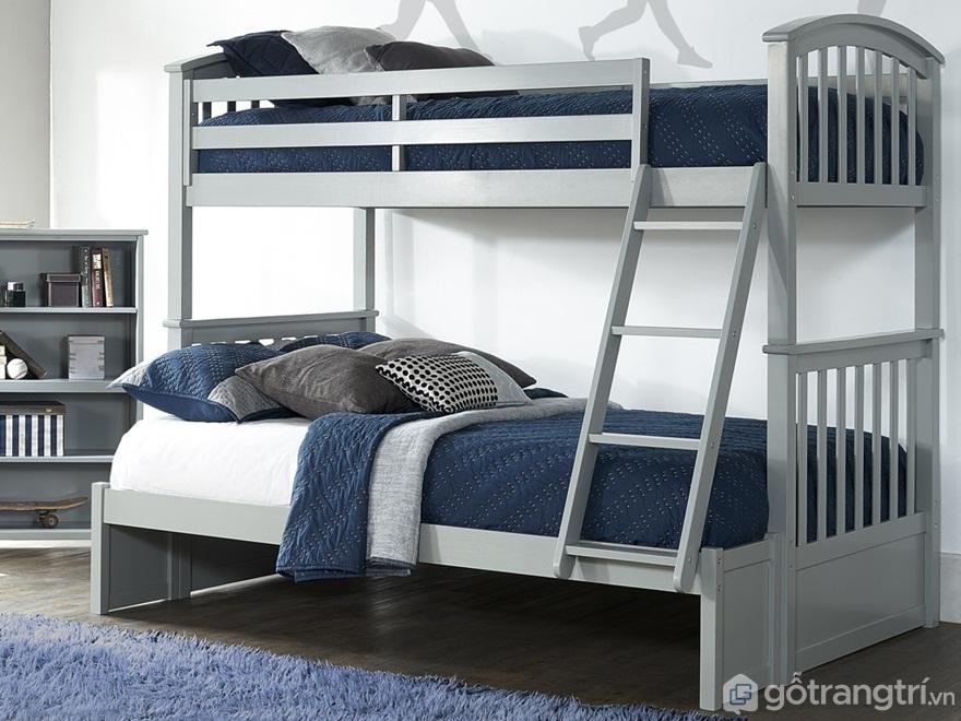 Giường tầng cho người lớn với kiểu dáng gọn gàng - Ảnh: Internet