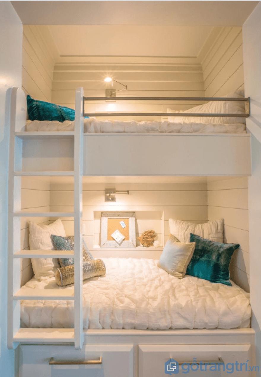 Bộ giường tầng đẹp luôn mang đến không gian sống tiện nghi cho mọi người - Ảnh: Internet