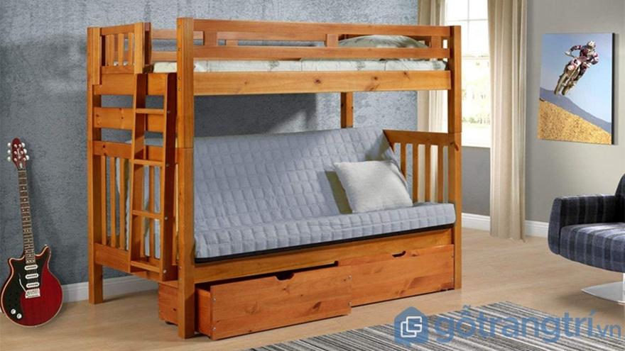 Sáng tạo với mẫu giường tầng Standard - Ảnh: Internet