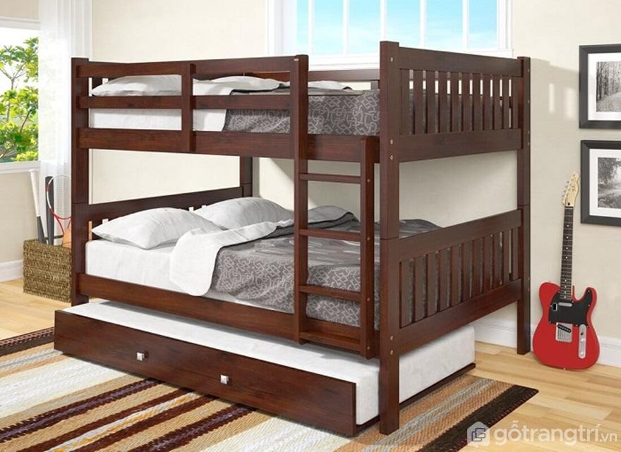 Giường tầng gỗ người lớn - Sự lựa chọn thông minh cho gia đình - Ảnh: Internet