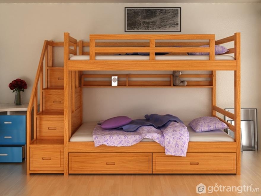Lời khuyên vàng về giường tầng gỗ tự nhiên khiến ai cũng phải tâm đắc - Ảnh: Internet