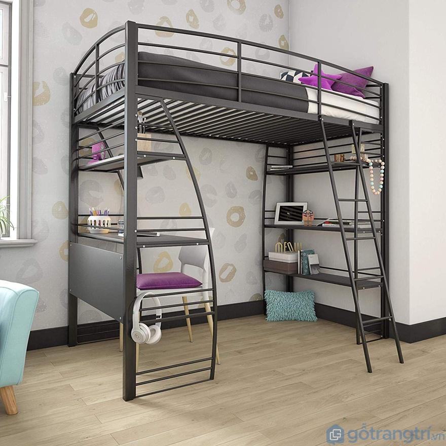 Những thiết kế giường tầng sắt rẻ nhưng lại siêu đẹp