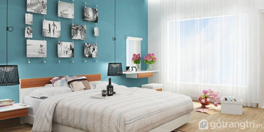 Hướng giường ngủ tuổi Kỷ Tỵ hợp nhất - Ảnh: Internet
