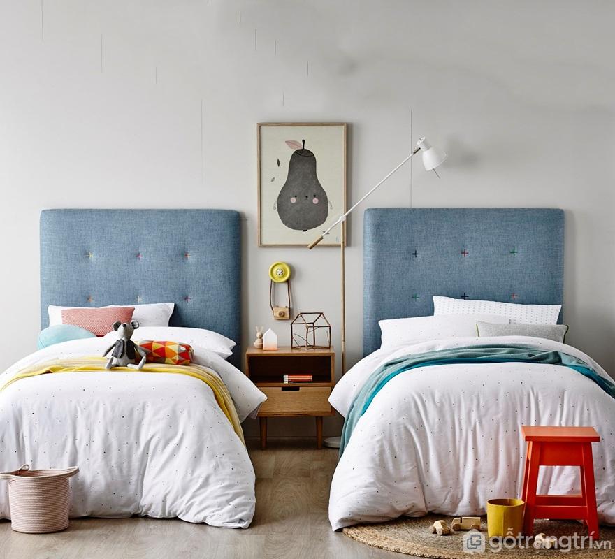Vị trí kê giường ngủ theo phong thủy - Ảnh: Internet