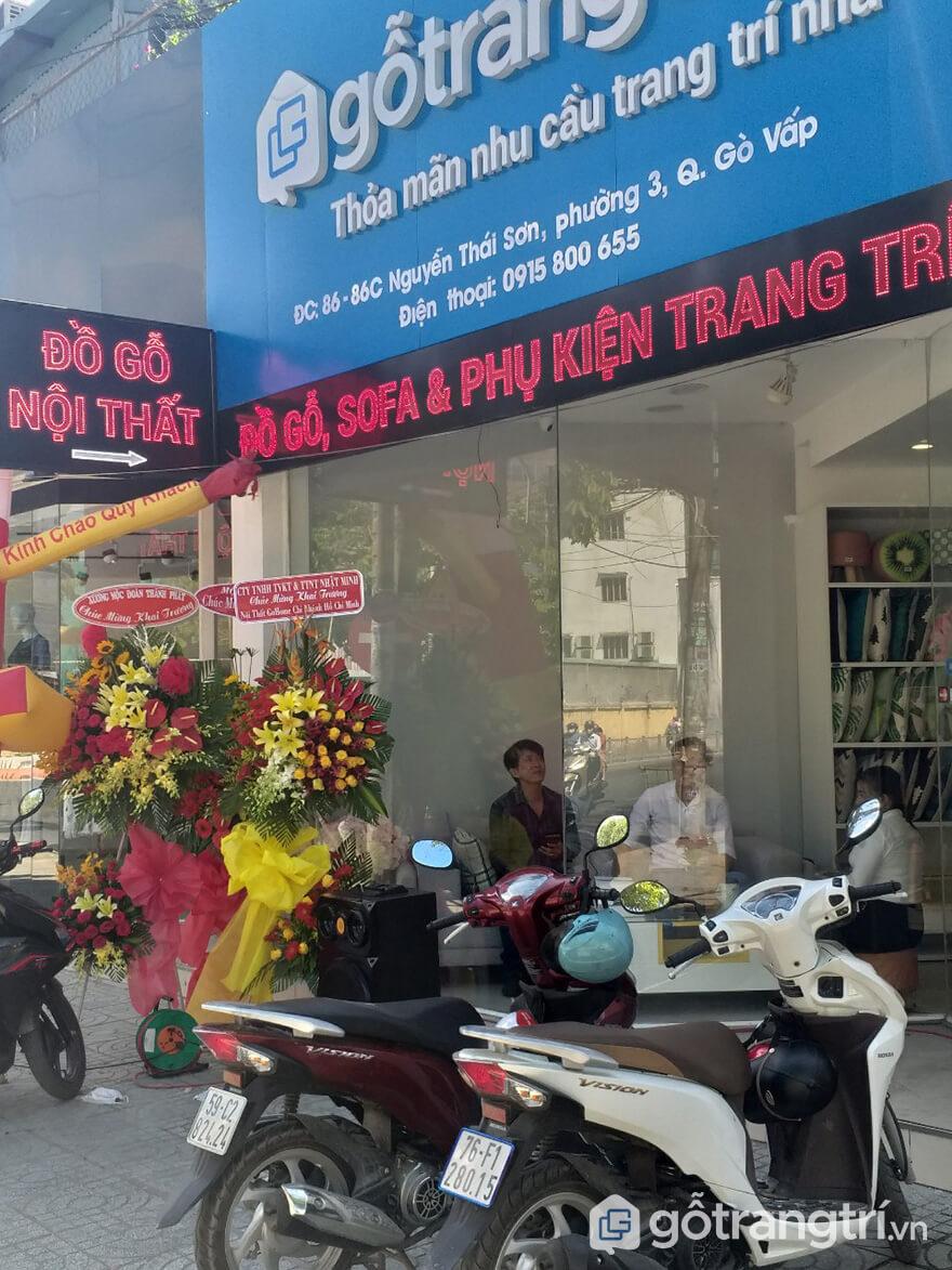 khai trương ministore Nguyễn Thái Sơn