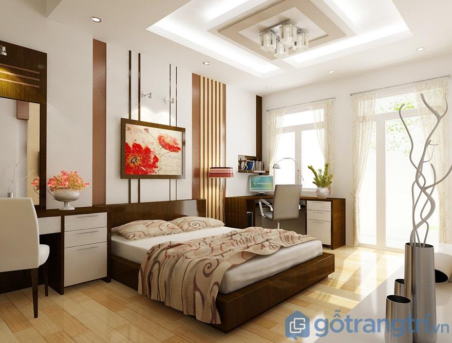 Giường đôi cho vợ chồng - Ảnh: Internet