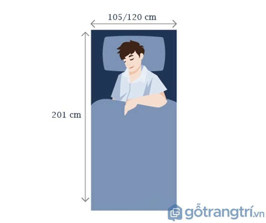 Đối với giường ngủ cho người lớn - Ảnh: Internet