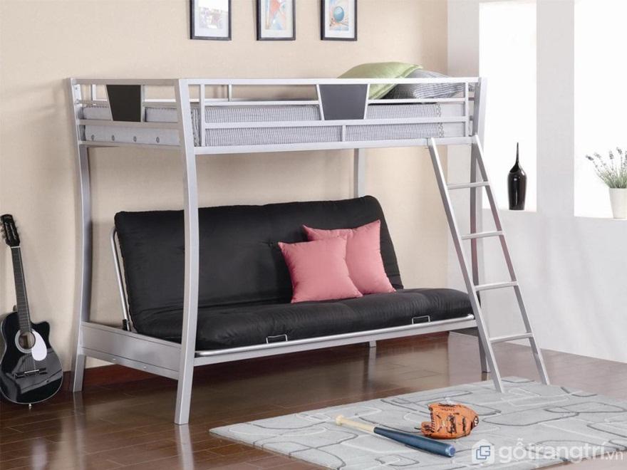 Cấu tạo giường tầng sắt - Ảnh: Internet