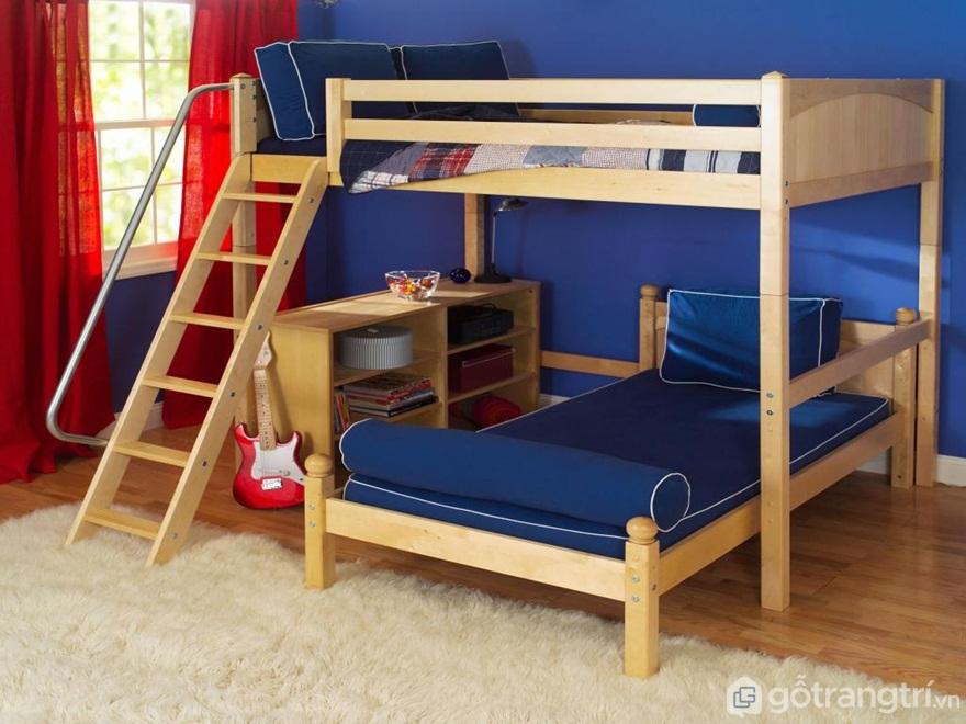 Nên lựa chọn kích thước giường tầng sao cho phù hợp nhất - Ảnh: Internet