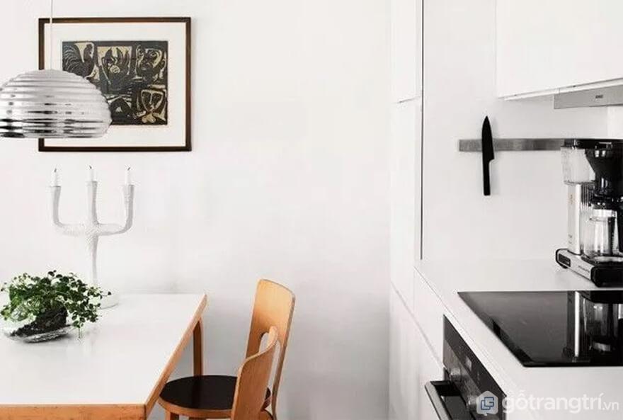 Mẫu 13: Nhà bếp nhỏ đẹp - Ảnh: Internet