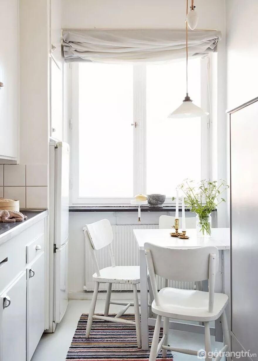 Mẫu 16: Nhà bếp nhỏ đẹp - Ảnh: Internet