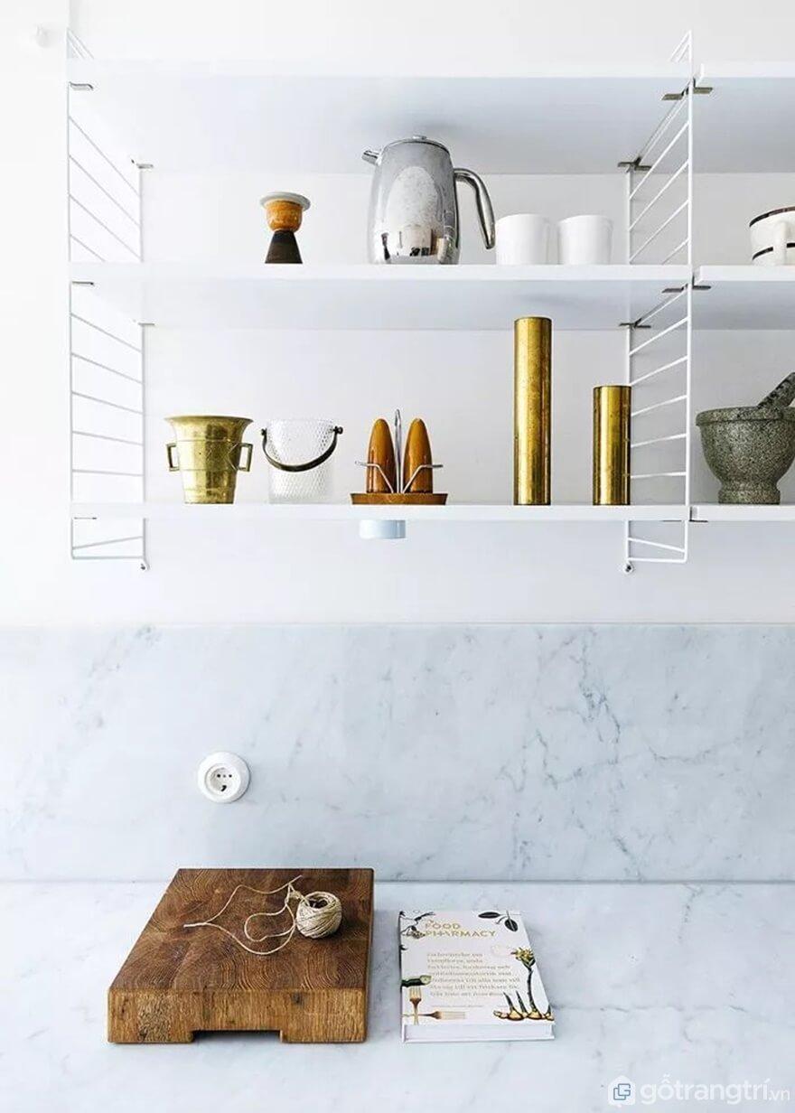 Mẫu 18: Nhà bếp nhỏ đẹp - Ảnh: Internet