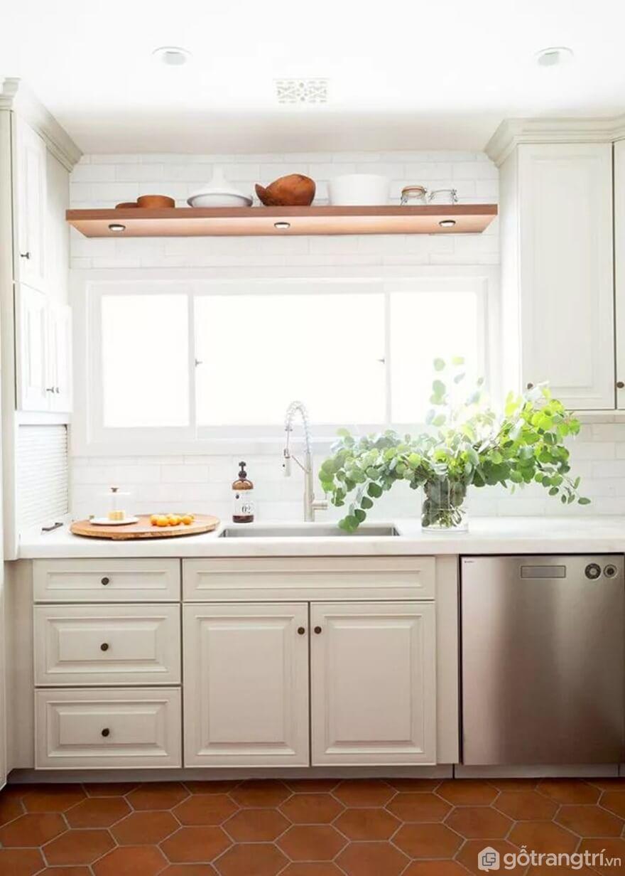 Mẫu 21: Nhà bếp nhỏ đẹp - Ảnh: Internet