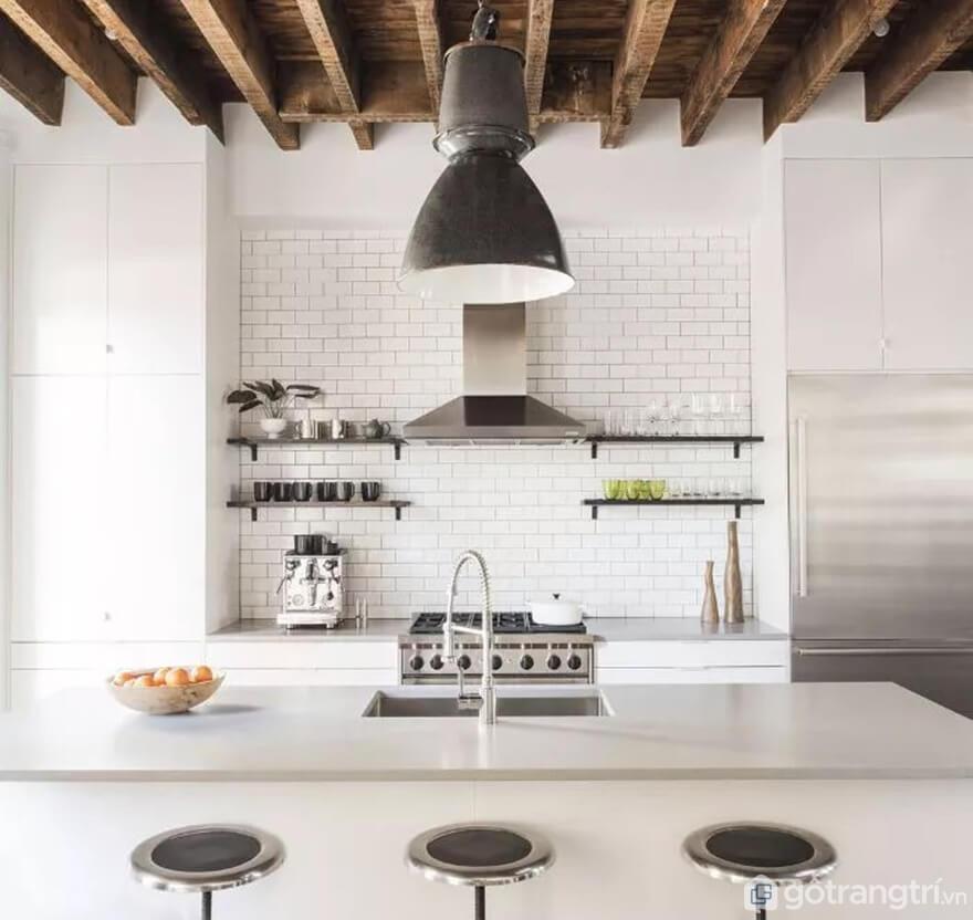 Mẫu 25: Nhà bếp nhỏ đẹp - Ảnh: Internet
