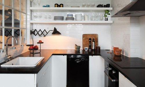 5 ý tưởng thiết kế tuyệt vời dành riêng cho nhà bếp nhỏ hiện đại