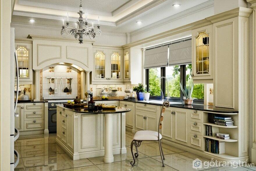 [Mách nhỏ]: 6 cách bài trí nội thất phòng bếp đẹp đến rụng rời con tim - Ảnh: Internet