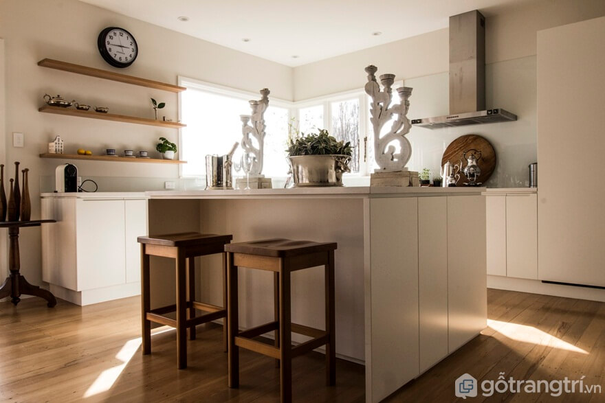 Mẫu 09: Phòng bếp đẹp hiện đại - Ảnh: Internet