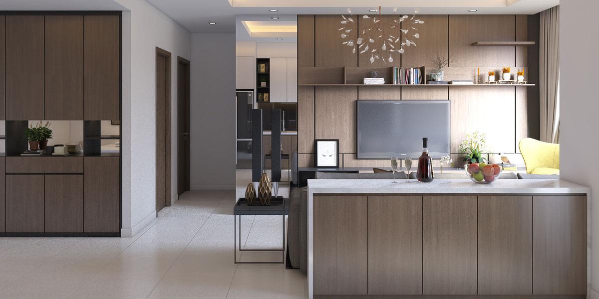 Bật mí cách thiết kế phòng bếp đẹp hiện đại trở nên quyến rũ hơn