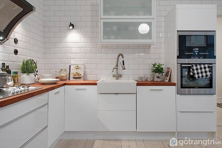 Gạch lát phòng bếp - Ảnh: Internet