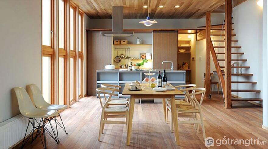Phòng bếp thiết kế sang trọng - Ảnh: Internet