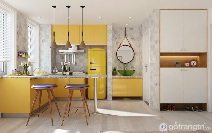 TOP 5 xu hướng thiết kế phòng bếp cực đẹp làm siêu lòng phái đẹp - Ảnh: Internet