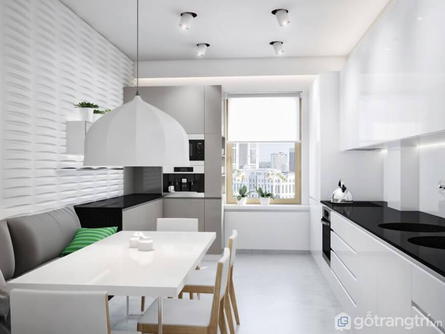 Xu hướng thiết kế phòng bếp đẹp hiện đại - Ảnh: Internet
