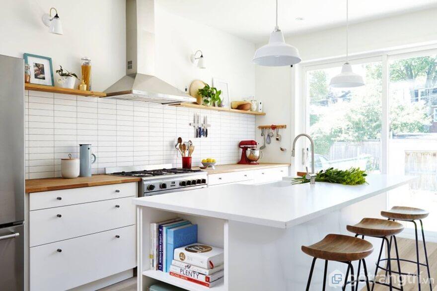 Thiết kế phòng bếp theo phong cách tối giản - Ảnh: Internet