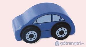 Do-choi-bang-go-mo-hinh-xe-taxi-mau-xanh-duong-GHB-809 (1)