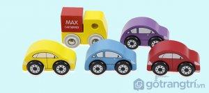 Do-choi-bang-go-mo-hinh-xe-taxi-mau-xanh-duong-GHB-809 (2)