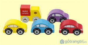 Do-choi-bang-go-mo-hinh-xe-taxi-mau-xanh-duong-GHB-809 (3)