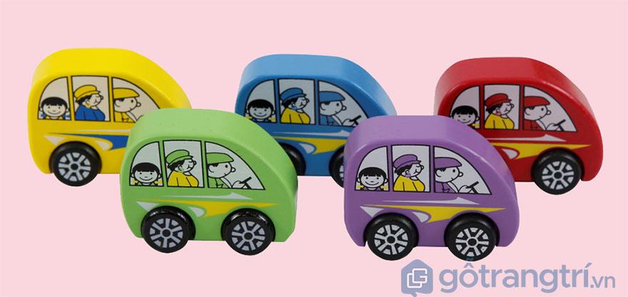 Do-choi-go-cho be-mo-hinh-xe-xanh-duong-GHB-813