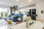 Mê mẩn trước thiết kế nội thất chung cư ngọt ngào sắc thu