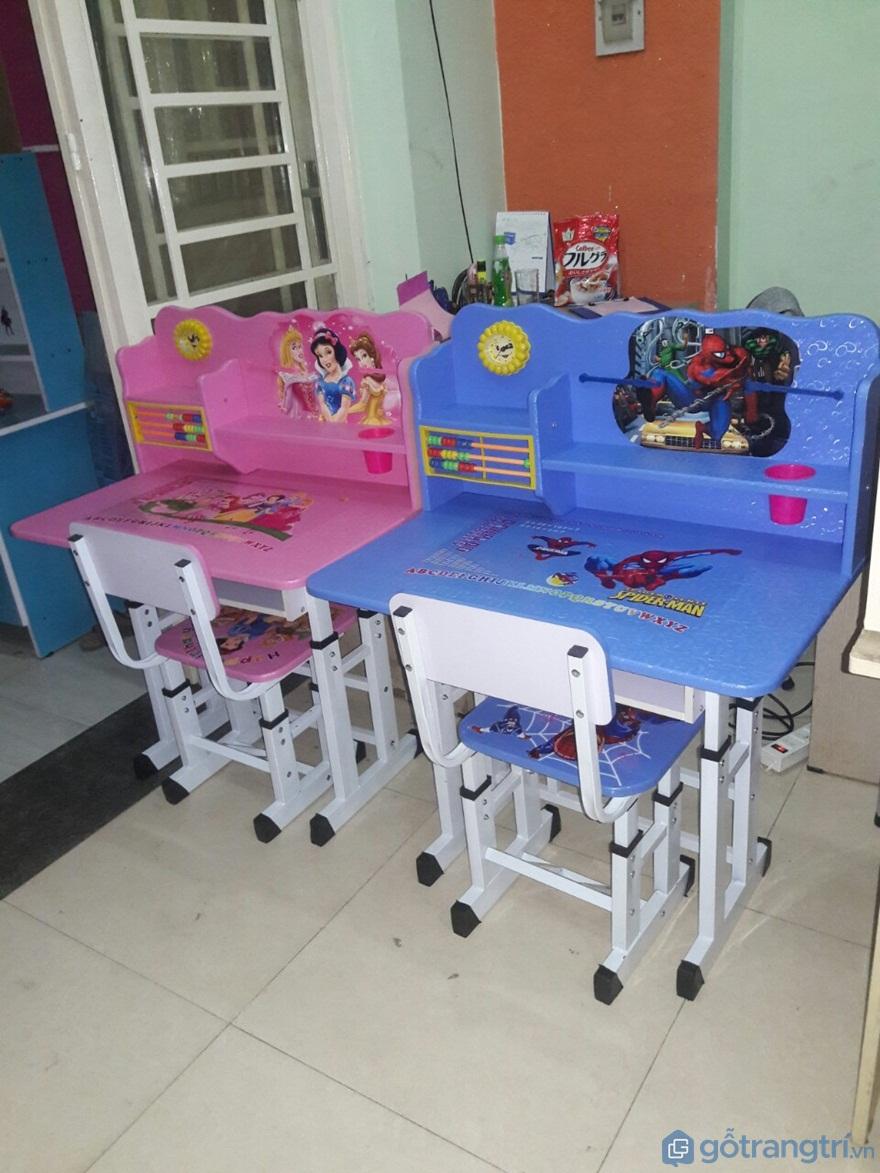 Lưu ý khi mua bàn học cho bé 4 tuổi, 5 tuổi mà cha mẹ cần biết - Ảnh: Internet