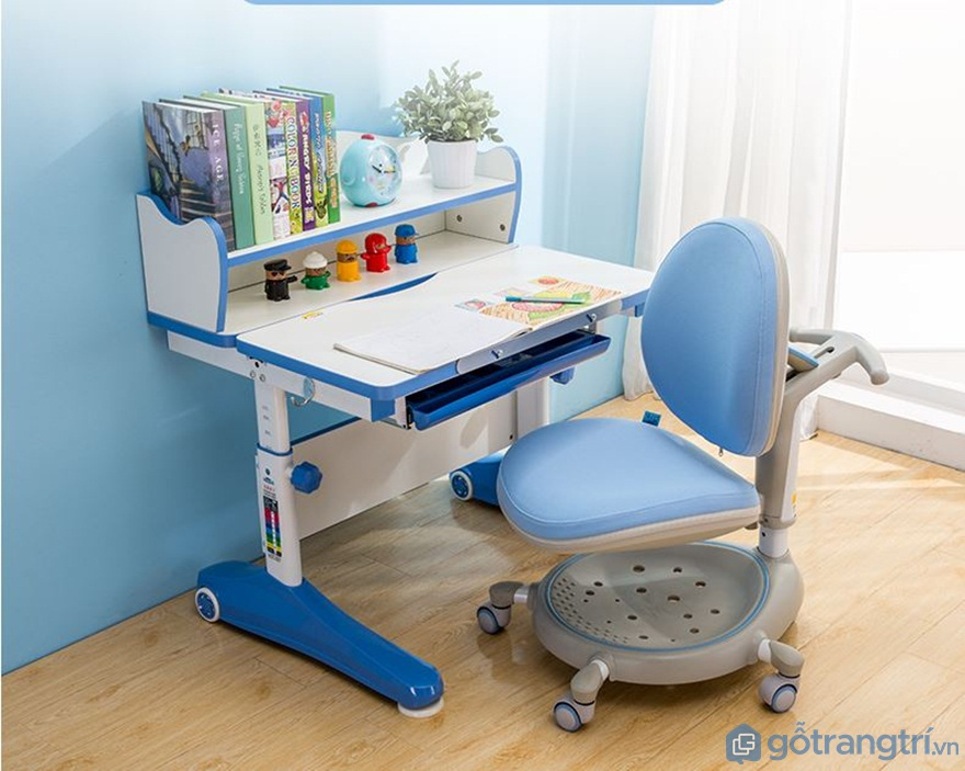 Bộ bàn học cho bé 3 - 4 - 5 tuổi - Mẫu 07 - Ảnh: Internet