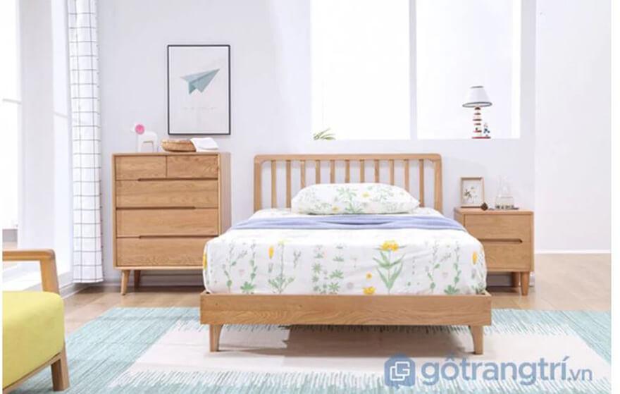 Giường cho bé gái 3 tuổi