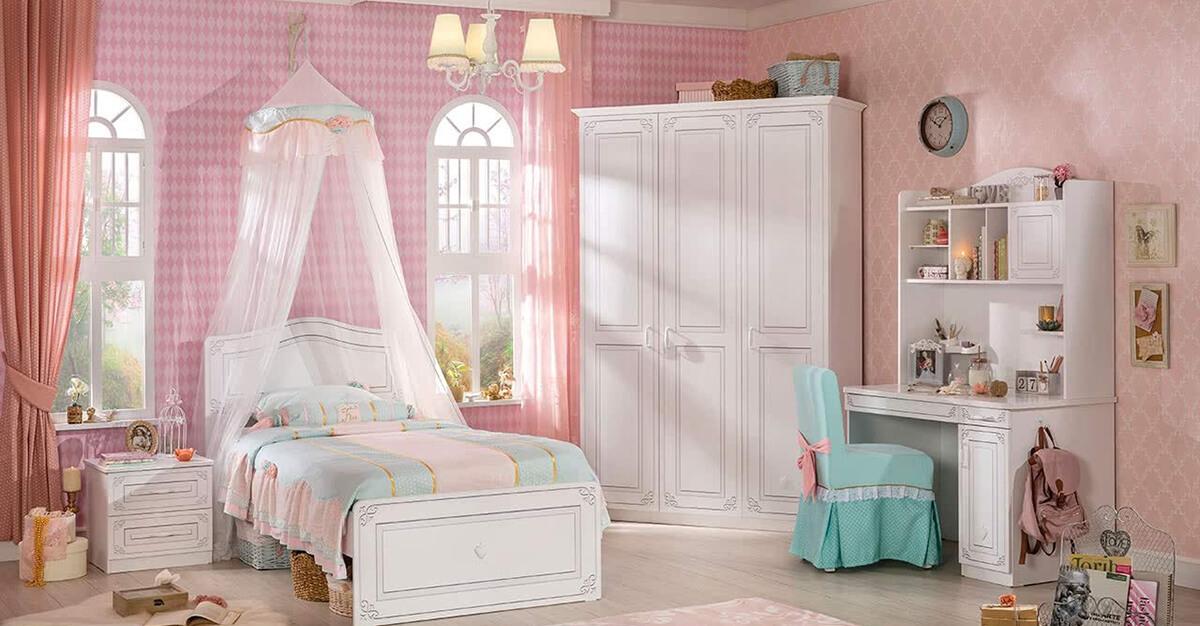 Giường ngủ cho bé gái 3 tuổi
