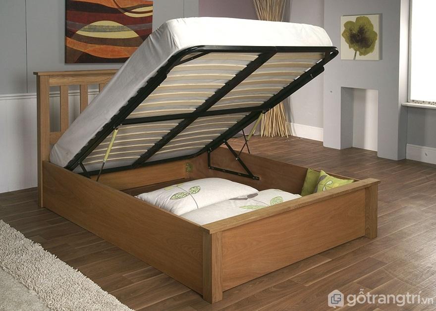 Giường ngủ có nhiều không gian lưu trữ - Ảnh: Internet