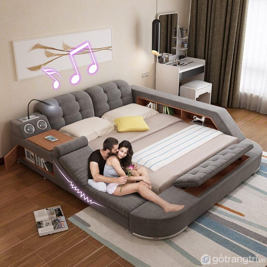 Giường ngủ đa năng hiện đại - Ảnh: Internet