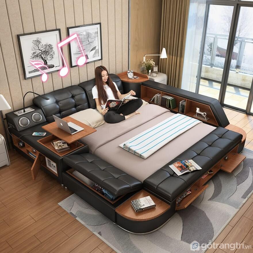 Giường ngủ đa năng phù hợp với không gian nào? - Ảnh: Internet