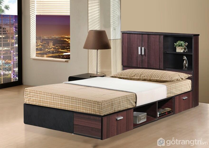 Giường ngủ đơn mẫu 04 - Ảnh: Internet