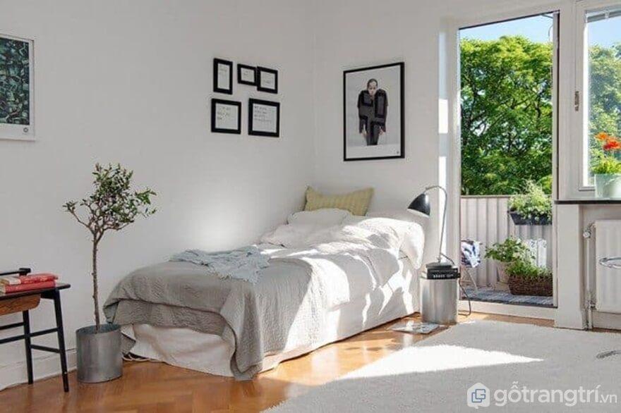 Giường ngủ đơn mẫu 03 - Ảnh: Internet