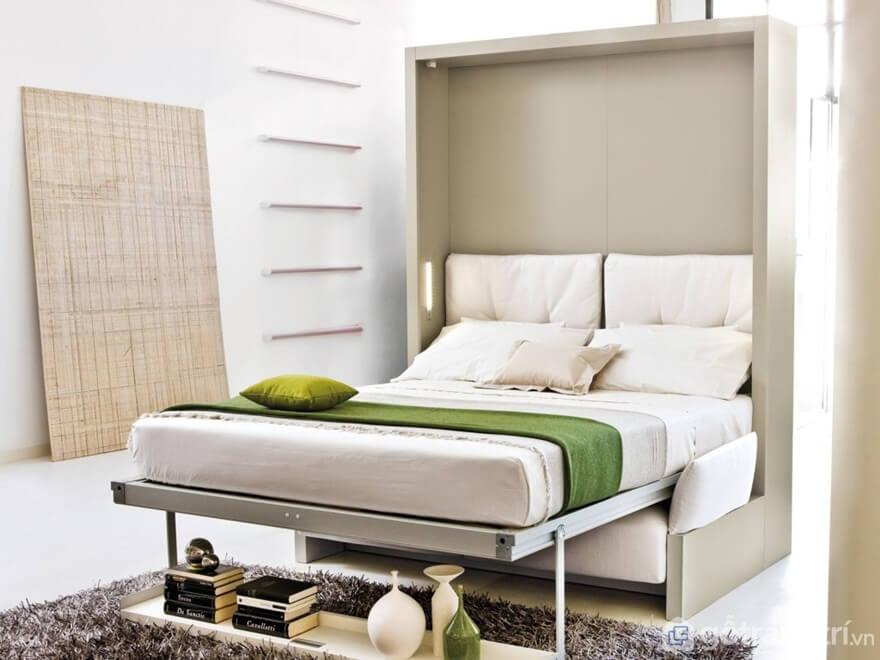 Giường gấp bằng gỗ mẫu 01 - Ảnh: Internet
