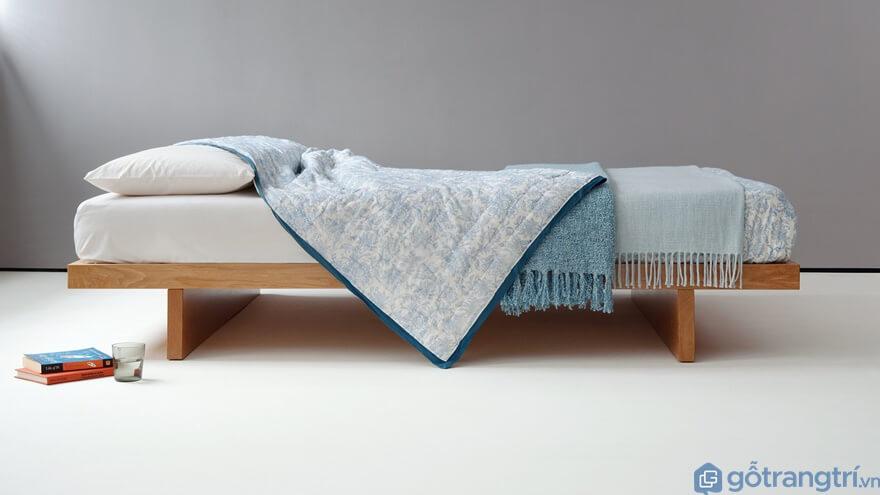 Mẫu giường ngủ kiểu Nhất đẹp và đơn giản 03 - Ảnh: Internet