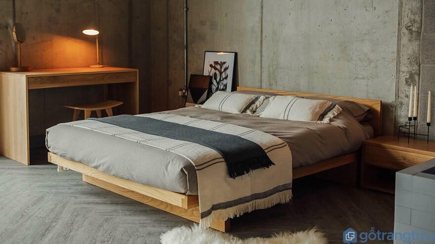 Mẫu giường ngủ kiểu Nhất đẹp và đơn giản 05 - Ảnh: Internet