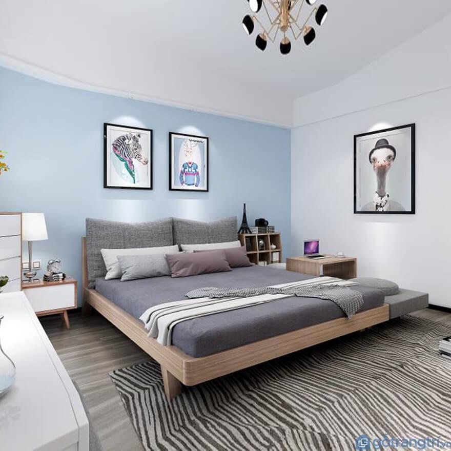 Mẫu giường ngủ kiểu Nhất đẹp và đơn giản 07 - Ảnh: Internet