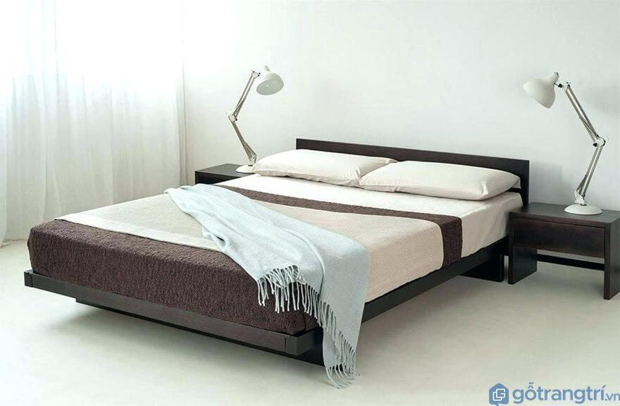 Kết cấu giường ngủ kiểu Nhật - Ảnh: Internet