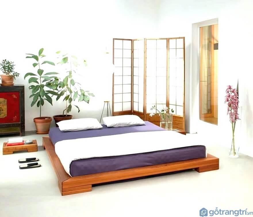 Chất liệu giường ngủ kiểu Nhật